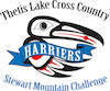 Harriers Thetis Lake Cross Country Stewart Mountain Challenge Logo2017 100