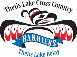 Harriers Thetis Lake Cross Country Thetis Lake Relay Logo2017 300