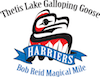 Harriers Thetis Lake Galloping Goose Bob Reid Magical Mile Logo2017 100